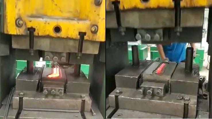 伺服螺旋壓力機可以從哪三方面避免鈦合金鍛造
